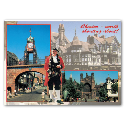 Chester Comp - Sold in pack (100 postcards)