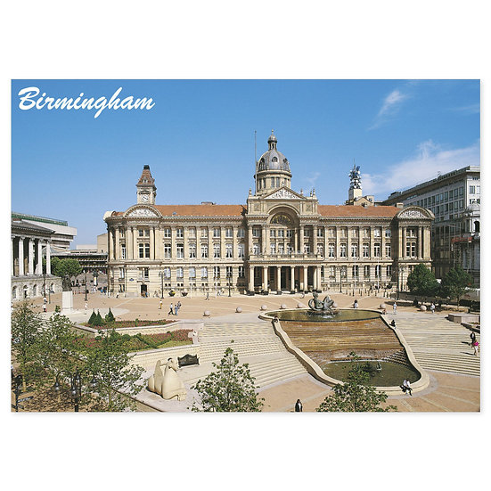 Birmingham Cathedral - Sold in pack (100 postcards)