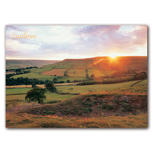 Castleton Sunset - Sold in pack (100 postcards)