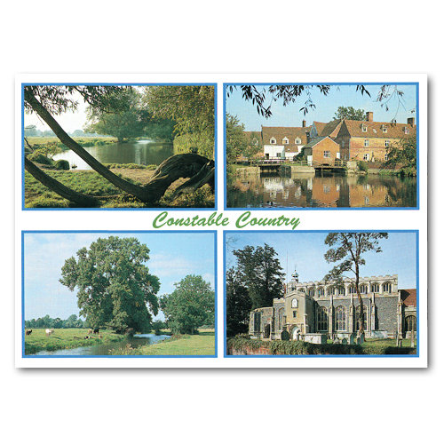 Constable Country - Sold in pack (100 postcards)