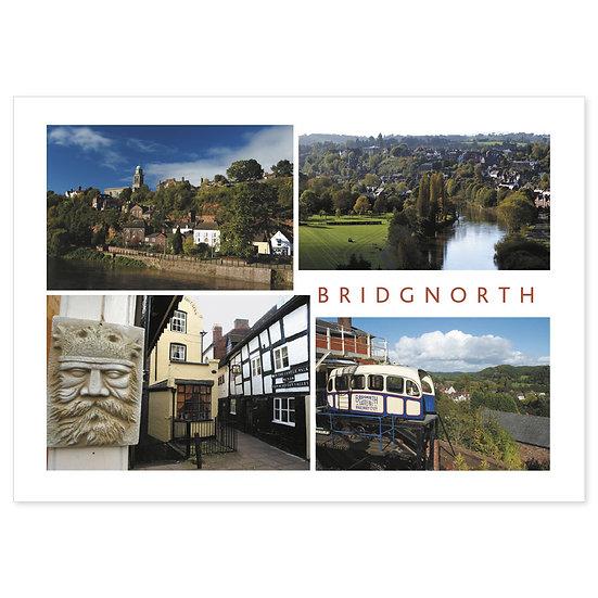 Bridgnorth Compilation - Sold in pack (100 postcards)