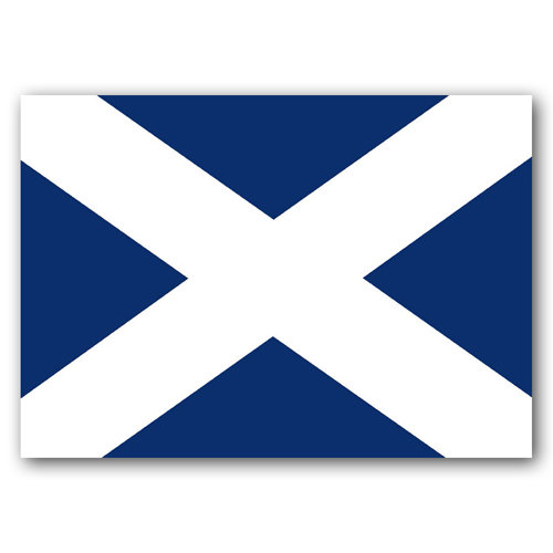 Scotland Flag - Sold in pack (100 postcards)
