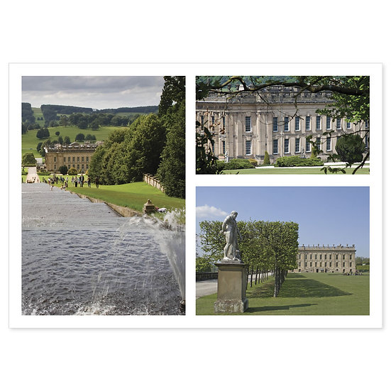 Chatsworth Comp - Sold in pack (100 postcards)