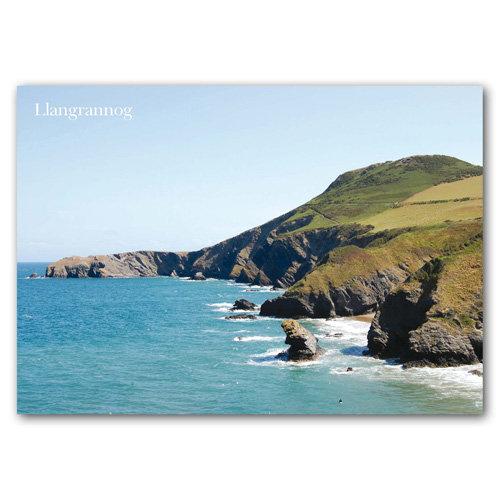 Llangrannog Coastal View - Sold in pack (100 postcards)