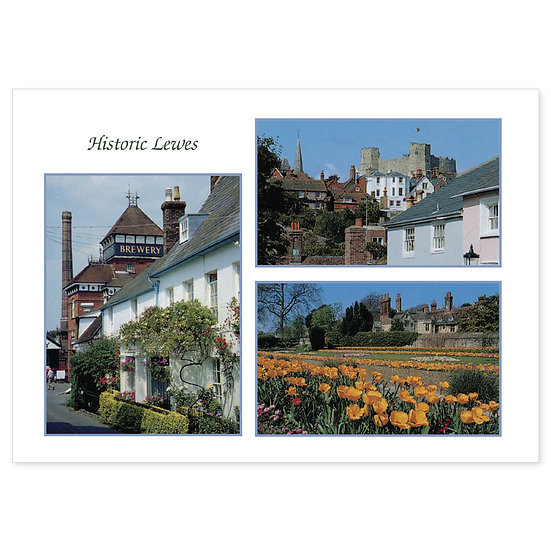 Lewes Historic - Sold in pack (100 postcards)