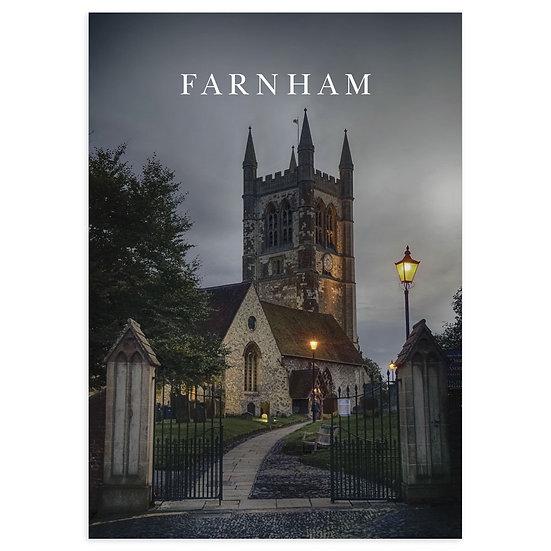 Farnham Church - Sold in pack (100 postcards)