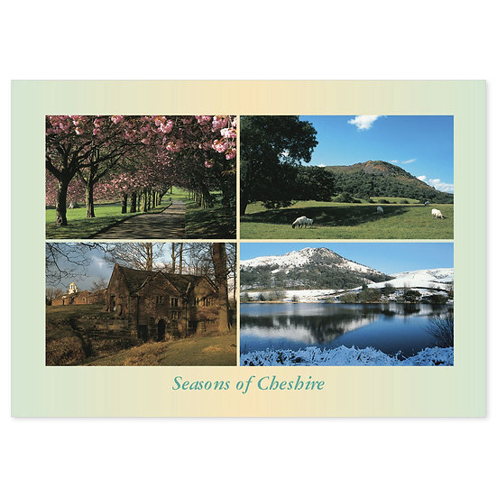 Cheshire Season Of - Sold in pack (100 postcards)