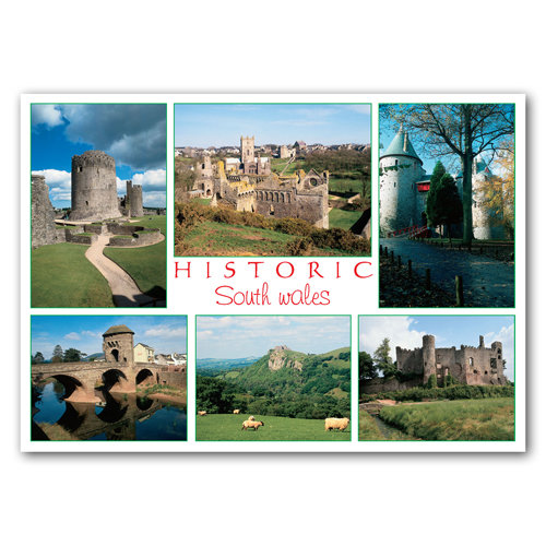 Wales Traditional - Sold in pack (100 postcards)