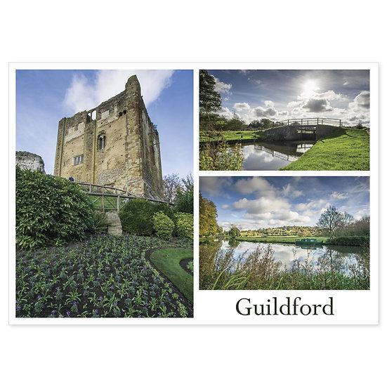 Guildford Compilation - Sold in pack (100 postcards)