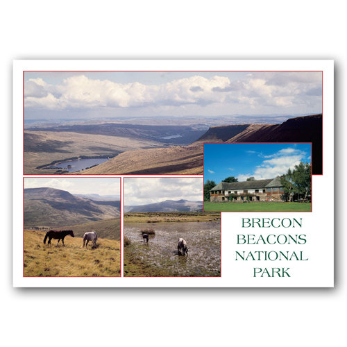 Brecon Beacons - Sold in pack (100 postcards)
