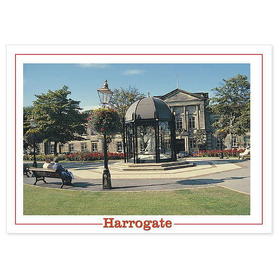 Harrogate The Pavilion - Sold in pack (100 postcards)