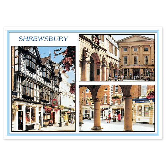 Shrewsbury Compilation - Sold in pack (100 postcards)