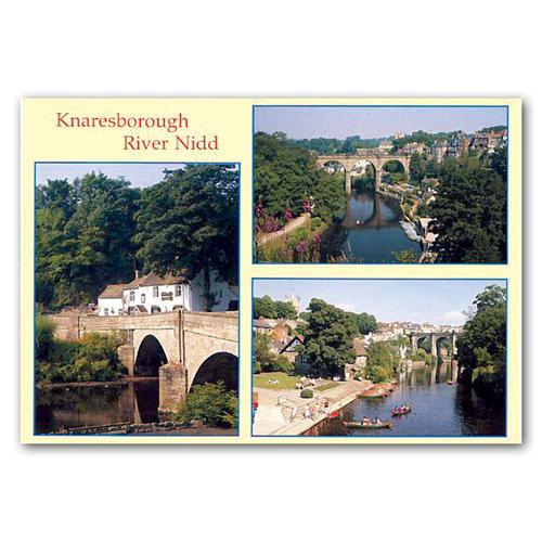 Knaresborough River Nidd Comp - Sold in pack (100 postcards)