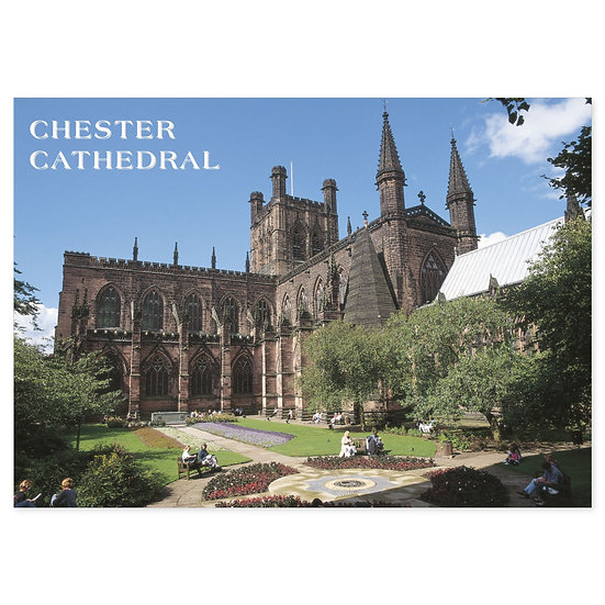 Chester Cathedral - Sold in pack (100 postcards)