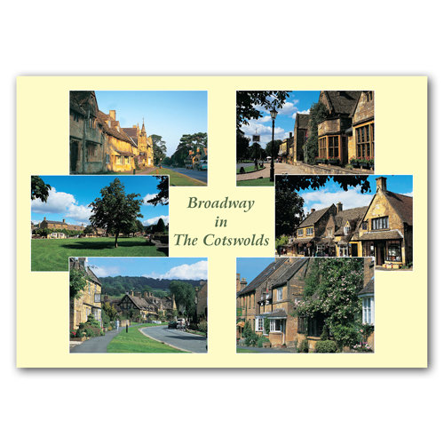 Broadway in The Cotswolds Comp - Sold in pack (100 postcards)