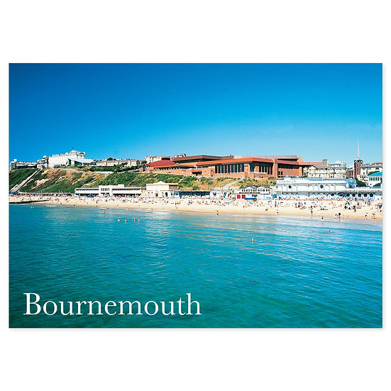 Bournemouth Coastal View - Sold in pack (100 postcards)