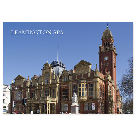 Leamington Spa Town Hall - Sold in pack (100 postcards)