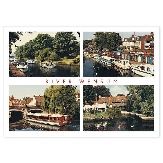 Norwich River Wensum - Sold in pack (100 postcards)
