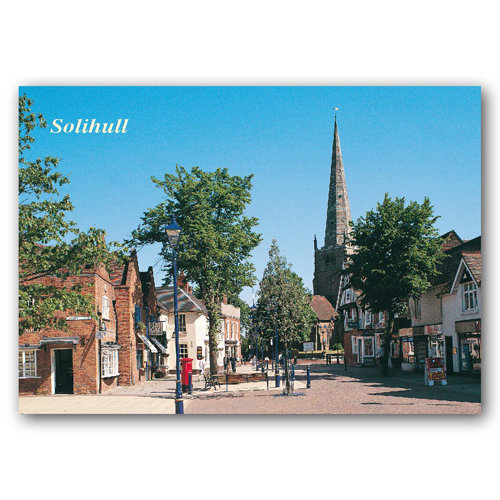 Solihull - Sold in pack (100 postcards)