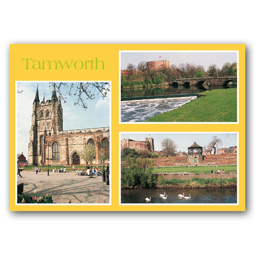 Tamworth Comp - Sold in pack (100 postcards)