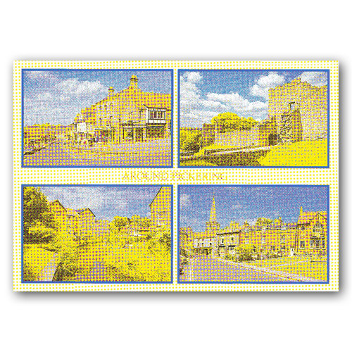 Pickering 4 View Comp - Sold in pack (100 postcards)