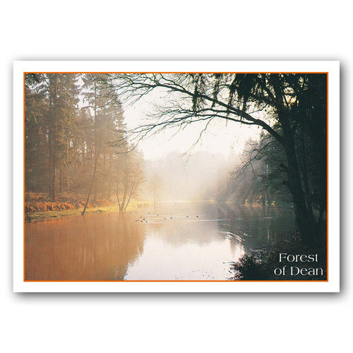 Forest of Dean Soudley Pond - Sold in pack (100 postcards)