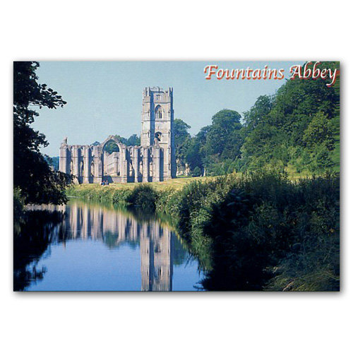 Fountains Abbey - Sold in pack (100 postcards)