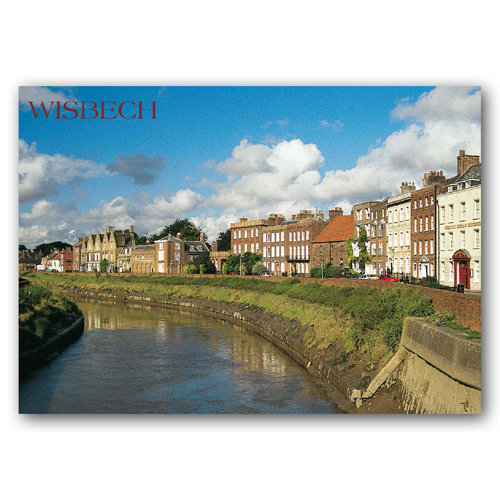 Wisbech - Sold in pack (100 postcards)