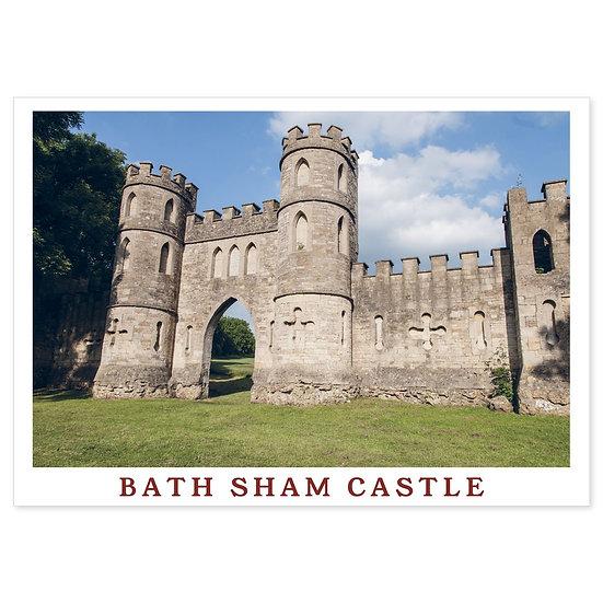 Bath Sham Castle - Sold in pack (100 postcards)