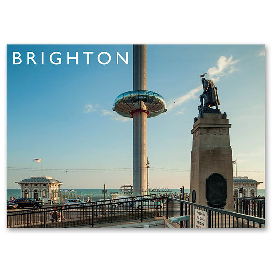 Brighton, i360 viewing platform - Sold in pack (100 postcards)