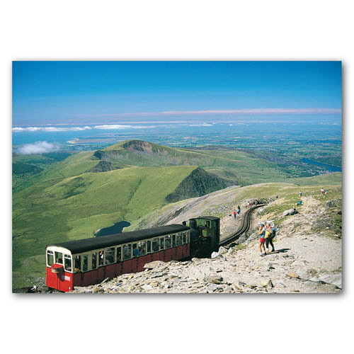 Snowdon Mountain Railway - Sold in pack (100 postcards)