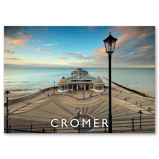Cromer, The Pavillion at Cromer Pier - Sold in pack (100 postcards)