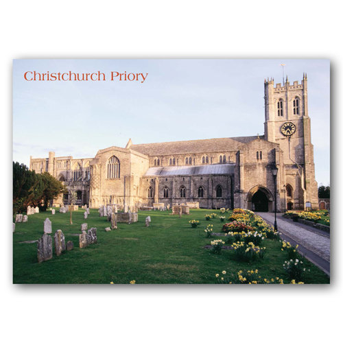 Christchurch Priory - Sold in pack (100 postcards)