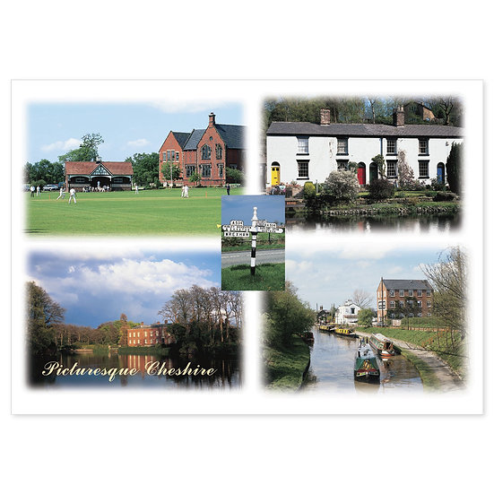 Cheshire Picturesque - Sold in pack (100 postcards)