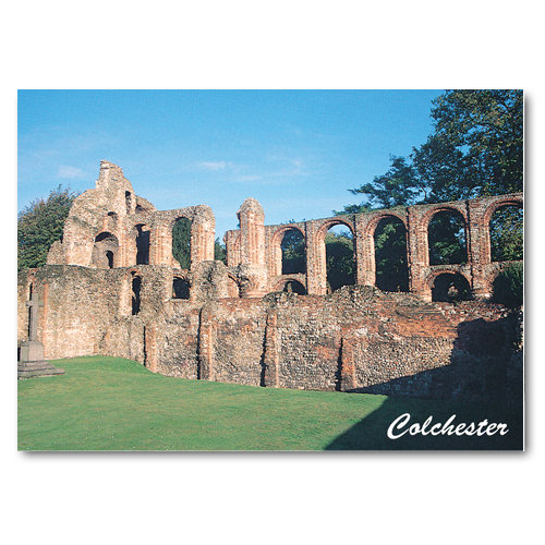 Colchester St Botolphs Priory - Sold in pack (100 postcards)