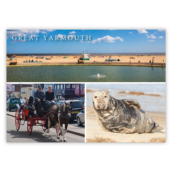 Great Yarmouth, Comp 2 - Sold in pack (100 postcards)