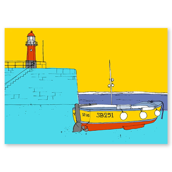 Life's a Beach by Lucy Sheeran : Harbour - Sold in pack (100 postcards)