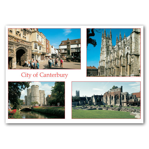 Canterbury Comp - Sold in pack (100 postcards)