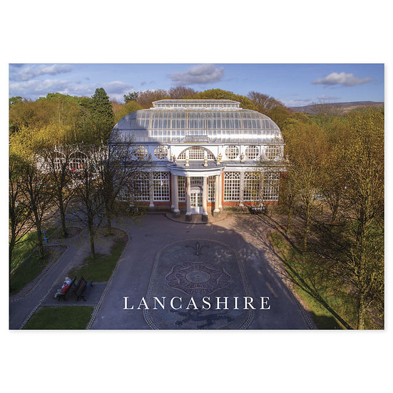 Lancaster Butterfly House - Sold in pack (100 postcards)