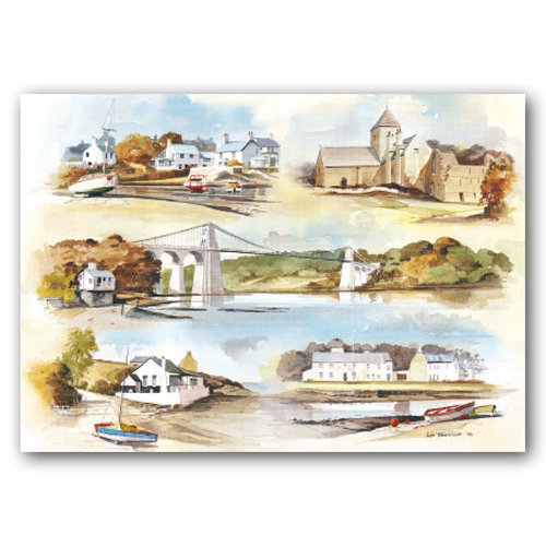 Anglesey Comp - Sold in pack (100 postcards)