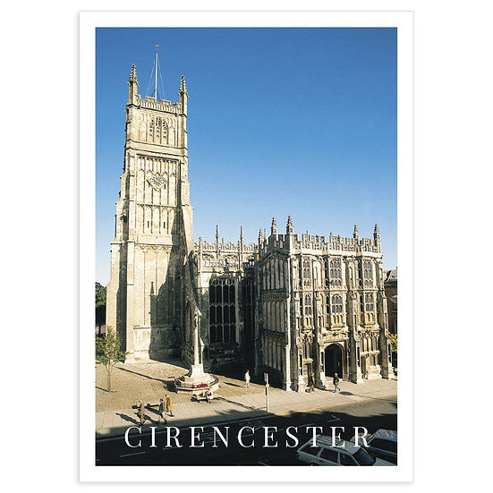 Cirencester St John The Baptist - Sold in pack (100 postcards)