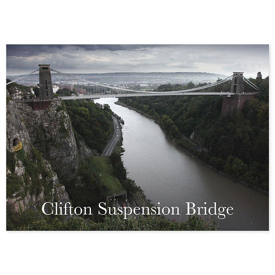 Bristol Clifton Suspension Bridge - Sold in pack (100 postcards)