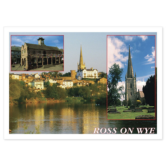Ross on Wye Comp - Sold in pack (100 postcards)