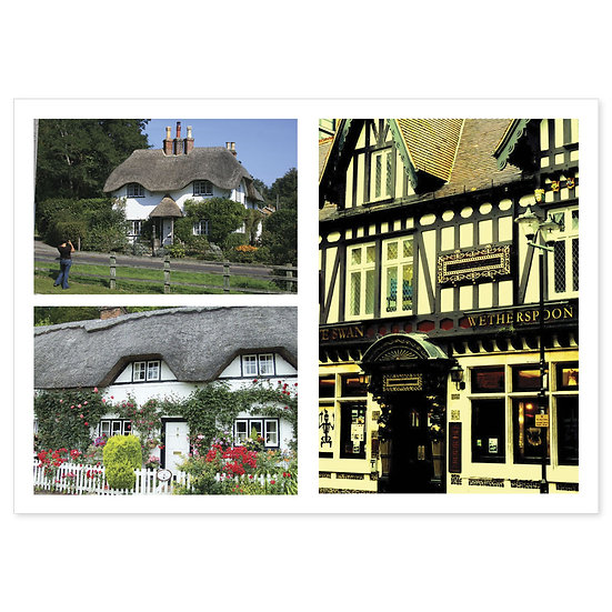 Hampshire Historical - Sold in pack (100 postcards)