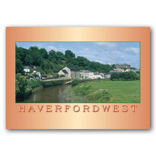 Haverfordwest And R Cleddau - Sold in pack (100 postcards)
