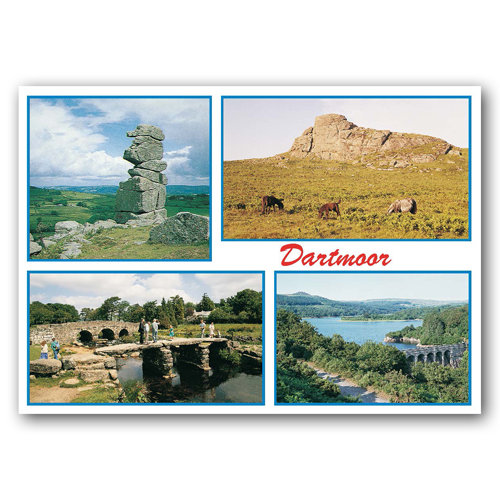 Dartmoor Comp - Sold in pack (100 postcards)