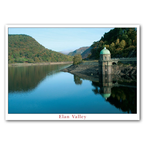 Elan Lake and Pumping Tower - Sold in pack (100 postcards)
