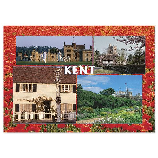 Kent Compilation - Sold in pack (100 postcards)