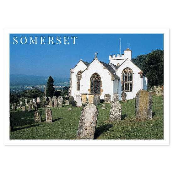 Somerset Church - Sold in pack (100 postcards)