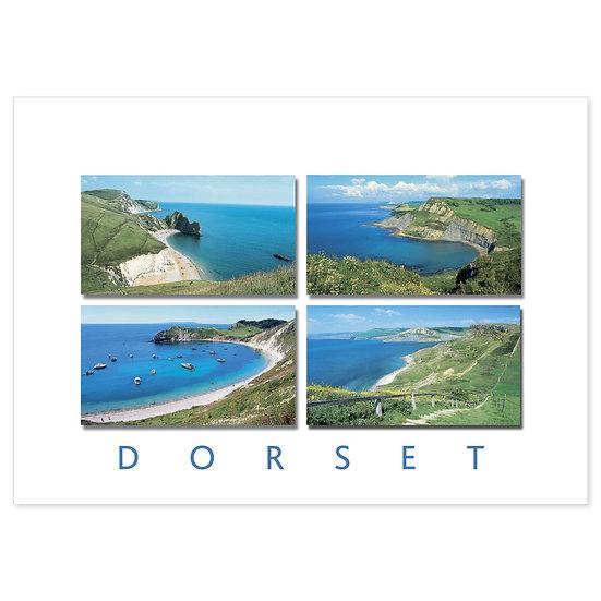 Dorset Just Coast Line Compilation - Sold in pack (100 postcards)